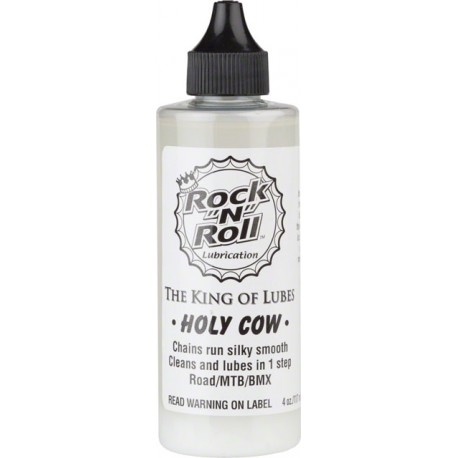 Rock'n'Roll Holy Cow bicylce chain lubrication 120ml Rocklube