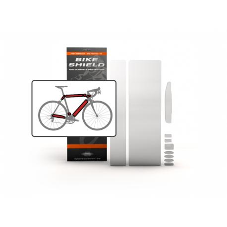 Bikeshield Rahmenschutz Folie Komplettset normal Sportscover