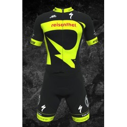 Team Rocklube replica Racesuit skinsuit short sleeves