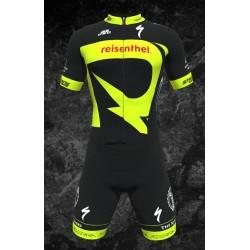 Team Rocklube replica Racesuit skinsuit short sleeves